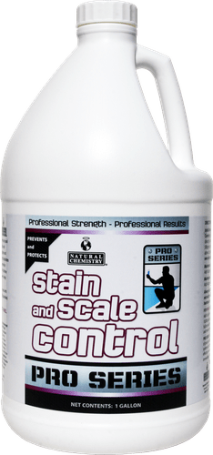 """Metal/Mineral Stain-Scale Control """"Pro Series Stain & Scale Control"""""""