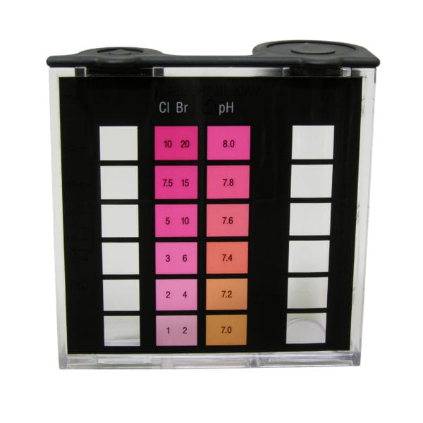 2000 Series Comparator, Bromine & Chlorine (hi range), DPD/pH, 7.0-8.0
