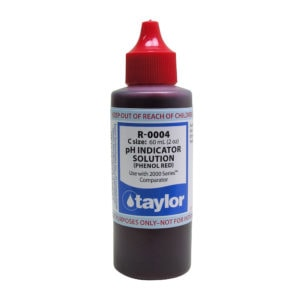 pH Indicator Solution (for 2000 Series), Phenol Red
